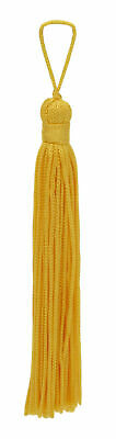 "Flag Gold 4"" Chainette Tassels [Set of 10]"