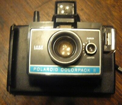 vintage instant land camera poloroid colorpack 11