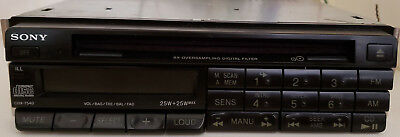 Sony CDX-7540 (CDX7540) FM/AM Compact Disk Player, vintage stereo