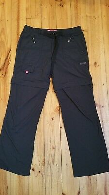 Vigilante Telven 2 Hiking Pants Zip Off Womens Size 12 excellent condition