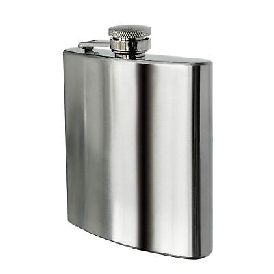 Flask 7-10oz Portable Stainless Steel Wine Whiskey Liquor Alcohol Bottle Gift