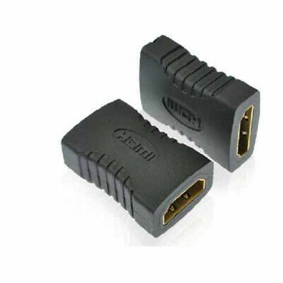2x HDMI Extender Female To Female Coupler Joiner Connector Adapter 1080p HDTV