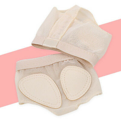 1Pair of Foot Thong Ballet / Lyrical Dance Shoes Nude All Size Child & Adult IN9