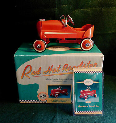 Hallmark Red Hot Roadster Kiddie Car Classics 1940 Gendron Roadster Die-Cast