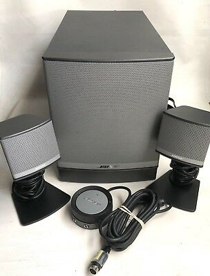 Bose Companion 3 Series II Multimedia Computer Speaker System w/ Subwoofer