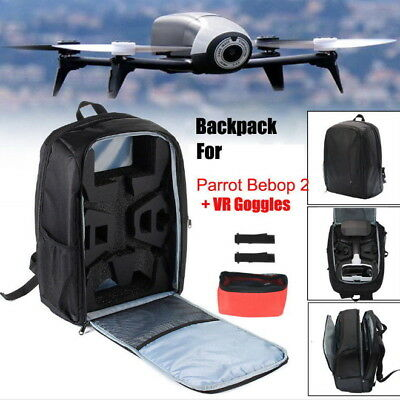 Backpack Storage Box Carrying Case for Parrot Bebop 2 Drone FPV / Power & Laptop