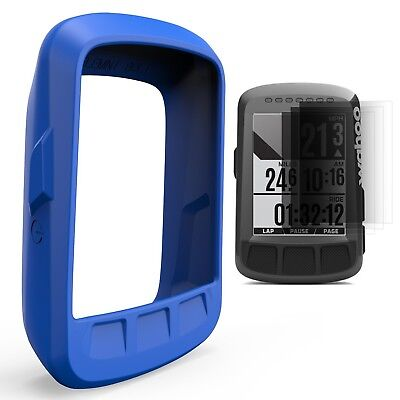 (Green) - TUSITA Silicone Skin Case Cover for Wahoo Elemnt Bolt GPS Bike