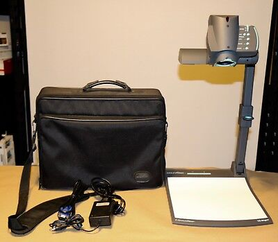 WolfVision  Document Camera Visualizer  VZ-8Light2  Projector. AC Adapter& VGA