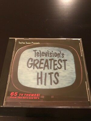 Television's Greatest Hits – 65 TV Themes From the 50's and 60's