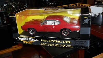 Ertl American Muscle 1968 Pontiac GTO Express Auto Parts Canadian Tire 1/18
