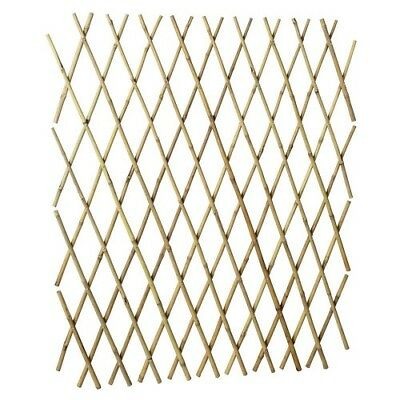 Bamboo Trellis 600mm x 1.8M Wall Fence Expandable Plants Creeper Natural Screen