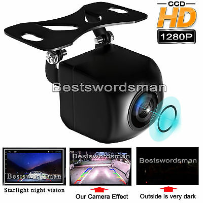 Car Rear Side View Reverse Backup Camera 170°  DH 1280P Low Light Night Vision