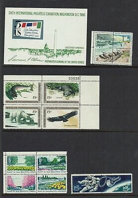 Us...wildlife Block Sheet No..plus Others.. Mint Stamps  Blocks...m/h  Muh...