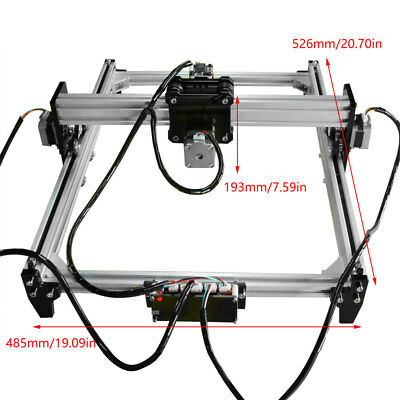 110-240V CNC Laser Engraver Cutter Metal Marking Wood Cutting Machine DIY Kit