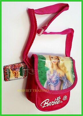 Brand new Barbie hip Bag crossbody girls kids travel purse waterproof pouch
