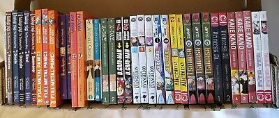 Lot Of 36 Manga Random Sets Mixed Lot Air Gear Tsubasa Full Metal Panic English
