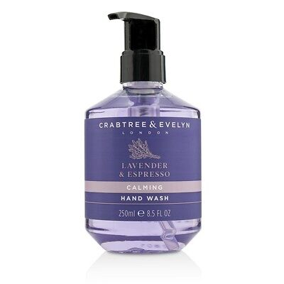 NEW Crabtree & Evelyn Lavender & Espresso Calming Hand Wash 250ml FREE POST