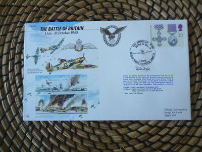 50th Anniversary of Battle of Britain Signed    fdc