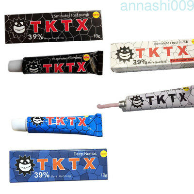 New TKTX 39% More Numbing Cream Piercing Permanent Eyebrow Embroidered Tattoo