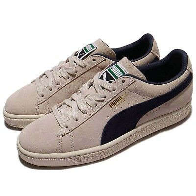 Puma Suede Classic Archive Low Birch Peacoat Men Shoes Sneakers 365587-02 3460e94a9