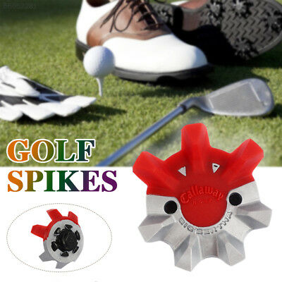 1pcs Durable White Golf Shoe Soft Spike Pins Thread Replacement Outdoor Gift