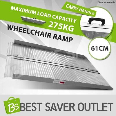Aluminium Wheelchair Ramp Access Folding Loading Scooter Van 2FT Portable