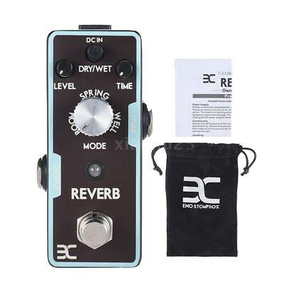 ENO Reverb Guitar Effect Pedal True Bypass from Spring, Echo to Space sound I9E2