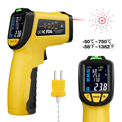 Handheld Digital Infrared Thermometer Non-Contact Temperature Laser Gun IR Point