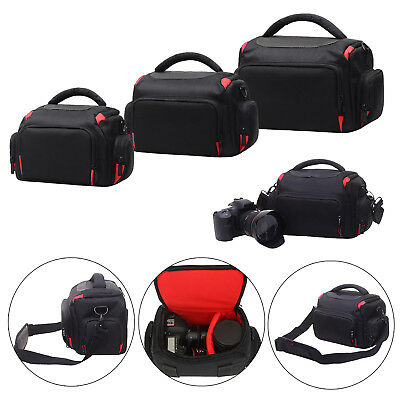 Digital Camera Backpack Bag Waterproof Case Cover SLR DSLR for Canon Nikon UK