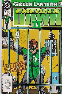 Green Lantern - Emerald Dawn Ii - Issues #1 -6 Complete Mini Series - Dc Comics