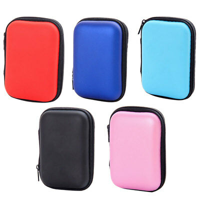 Earphone USB Cable Case Pouch Zipper Waterproof Organizer Storage Bag Travel