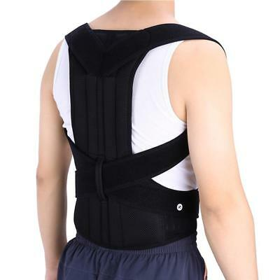 Posture Corrector Brace Back Shoulder Support Pain Relief Belt Magnetic Strap