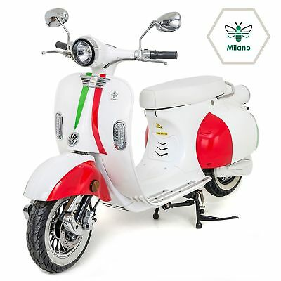 ELECTRIC MOPED SCOOTER Motorbike 2000W Road Legal Vespa style Bosch Motor  NEW