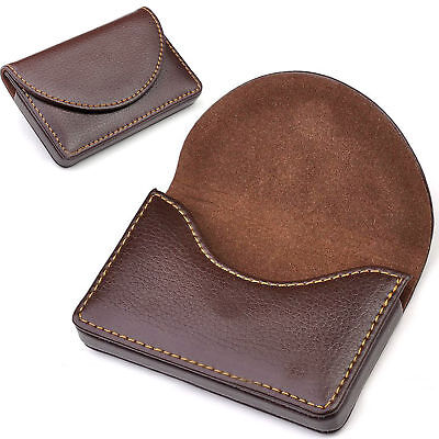 New Mens Pocket PU Leather Business ID Credit Card Holder Case Wallet
