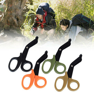 5DEC 1PCS Scissors Multitool Outdoor Camping Shears Ordinary Tactical ABS Home