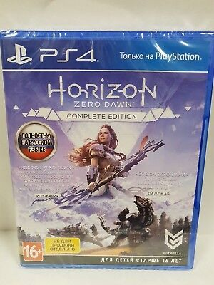Horizon: Zero Dawn Complete Edition PS4 New & Sealed