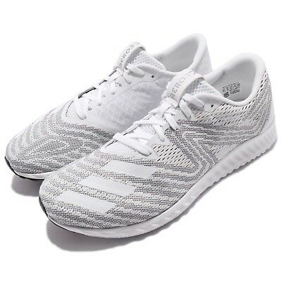 on sale ab02c 8a276 adidas Aerobounce PR M White Silver Men Running Shoes Sneakers DA9916