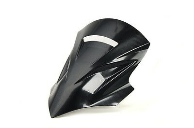 Kawasaki Kle 500 (2005 - 2006) Touring Windscreen Windshield Screen Carbon Style