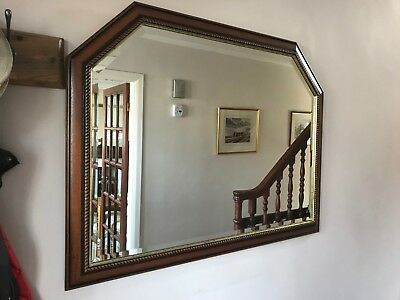 large vintage mirror in excellent condition