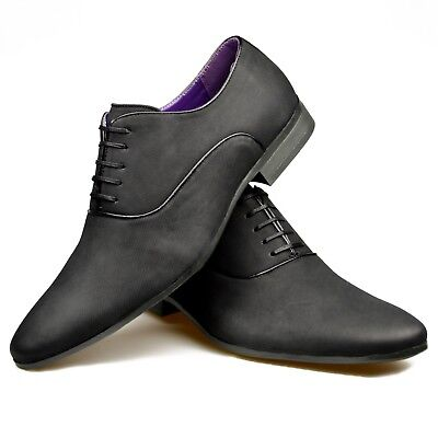 Mens Suede Black Smart Casual Formal Wedding Office Dress Party Navy Tan Shoes