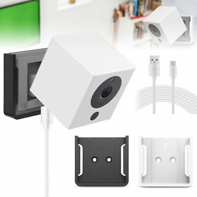 Wall Ceiling Mount Bracket + 23FT Charging Charger Cable for Wyze 1080p Camera