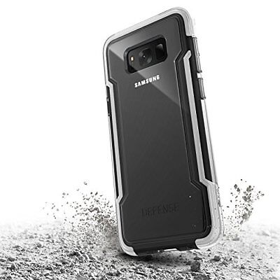 Samsung Galaxy S8 Case, X-Doria Defense Clear Series - Military Grade Drop Prot
