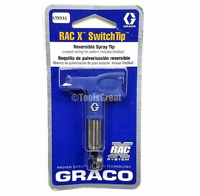Graco Rac X SwitchTip  LTX515 Latex Paint Spray Tip 515