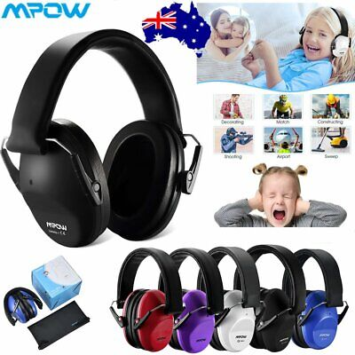 MPOW Kids Ear Protection Safety Ear Muffs Defenders Noise Reduction Earmuffs New
