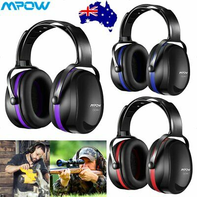 MPOW Outdoor Noise Reduction Ear Muffs Defenders 36dB Hearing Protection Unisex