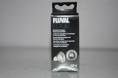Aquarium Fluval Edge Shielded Halogen Bulb 2 Pack 12 volt