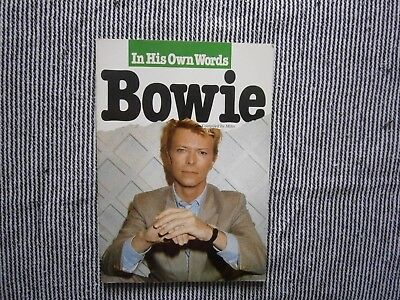 In His Own Words Bowie Omnibus Press 1985