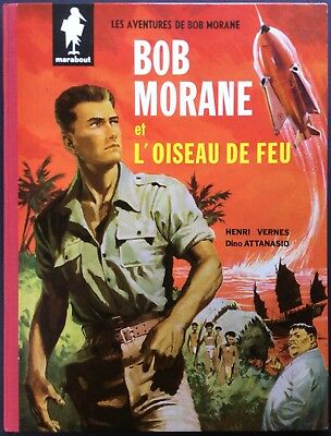 BOB MORANE and theBird fire Editions Marabout EO 1960 Nearly new