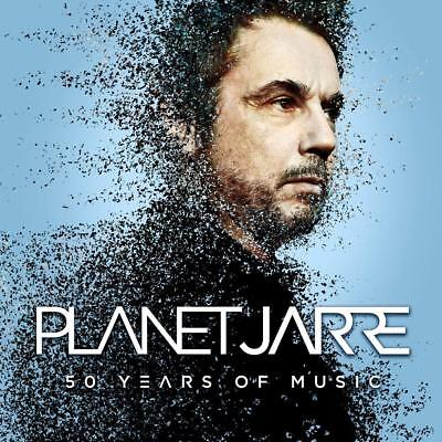 Jean Michel Jarre Planet Jarre 50 Years Of Music 2 Cd Set (2018)