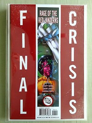 Final Crisis: Rage of the Red Lanterns #1 (Sliver Cover; Geoff Johns)
